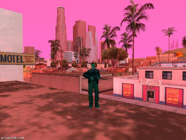 GTA San Andreas weather ID 189 at 16 hours