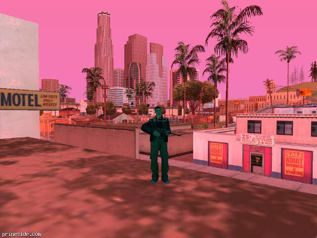 GTA San Andreas weather ID 189 at 19 hours