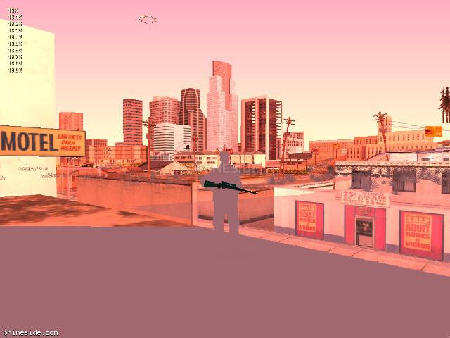 GTA San Andreas weather ID 189 at 21 hours