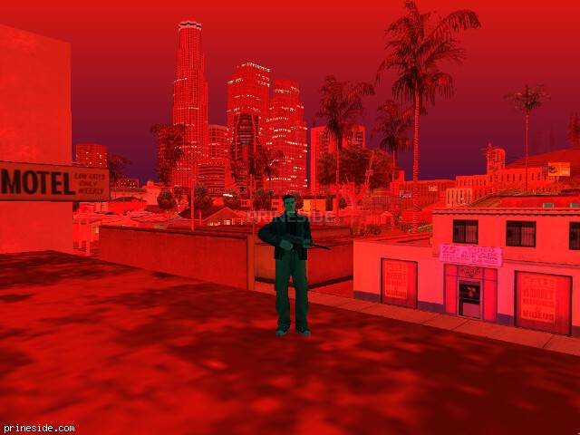 GTA San Andreas weather ID 189 at 22 hours