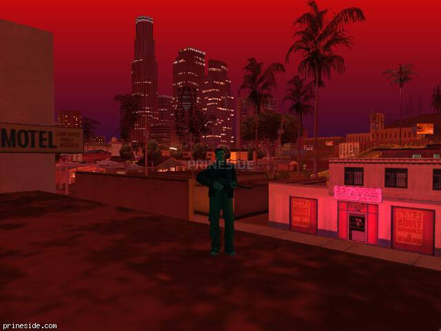 GTA San Andreas weather ID 189 at 23 hours