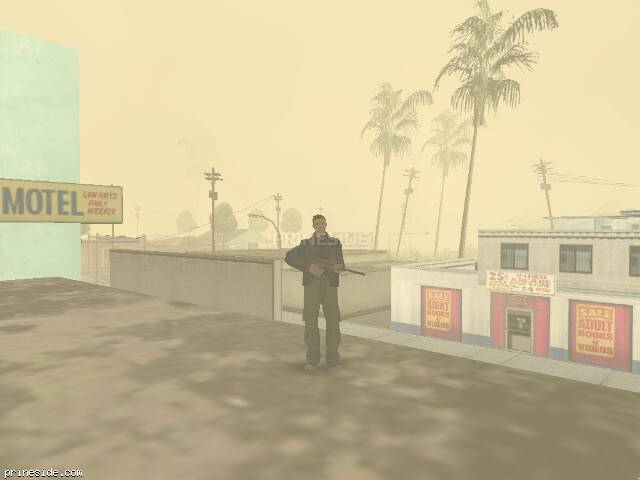 GTA San Andreas weather ID 19 at 10 hours