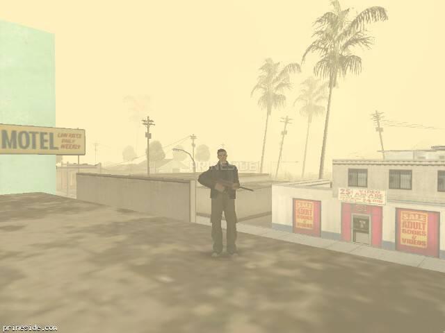 Просмотр погоды GTA San Andreas с ID -1005 в 11 часов