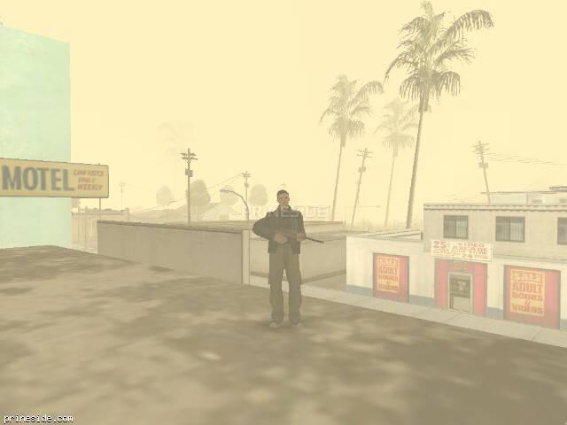 Просмотр погоды GTA San Andreas с ID 19 в 13 часов