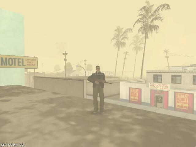 Просмотр погоды GTA San Andreas с ID 19 в 14 часов