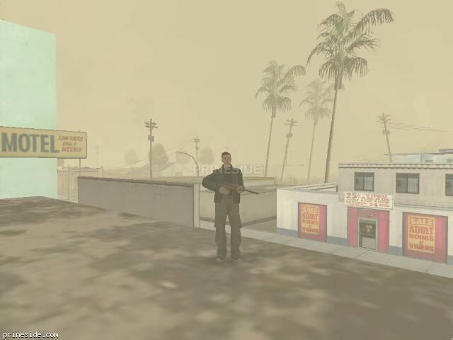 Просмотр погоды GTA San Andreas с ID 19 в 16 часов