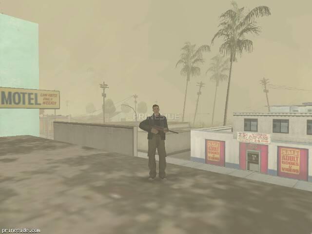 Просмотр погоды GTA San Andreas с ID -493 в 17 часов