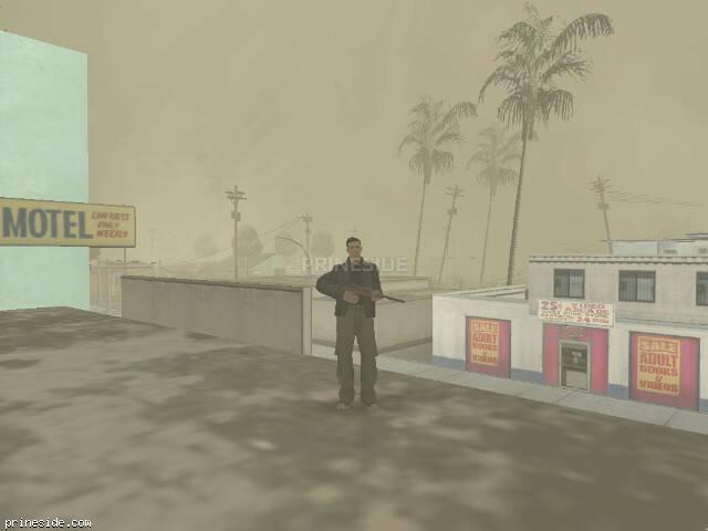 Просмотр погоды GTA San Andreas с ID -493 в 18 часов
