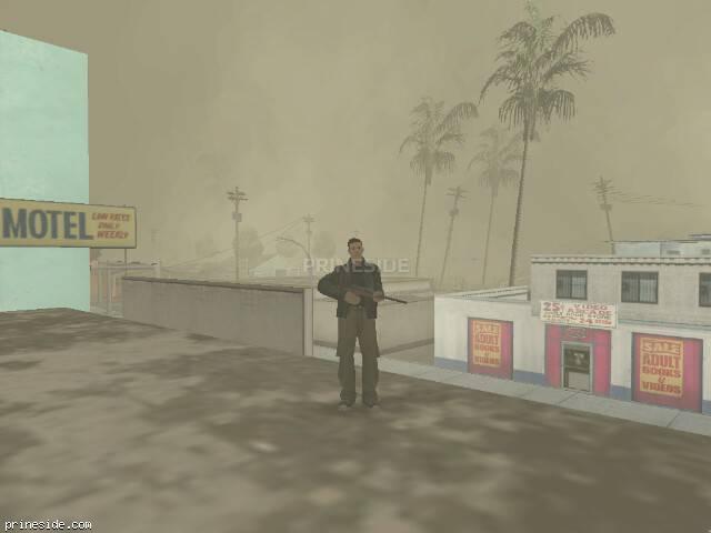 Просмотр погоды GTA San Andreas с ID 19 в 19 часов
