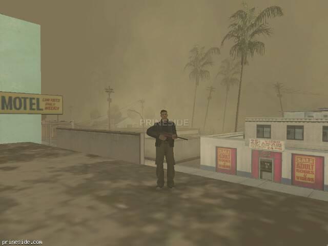 Просмотр погоды GTA San Andreas с ID 19 в 20 часов