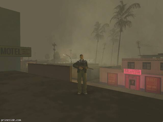 GTA San Andreas weather ID 19 at 21 hours
