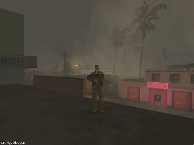 Просмотр погоды GTA San Andreas с ID -493 в 22 часов