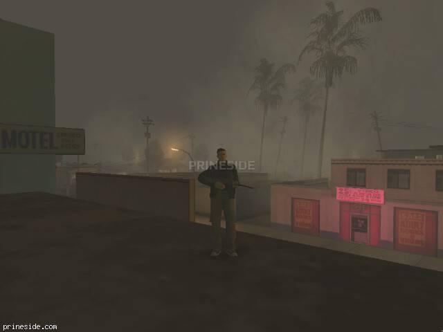 Просмотр погоды GTA San Andreas с ID 19 в 23 часов