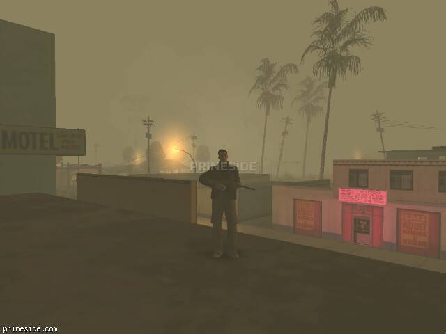 GTA San Andreas weather ID -493 at 4 hours