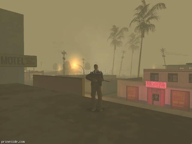 Просмотр погоды GTA San Andreas с ID 19 в 5 часов