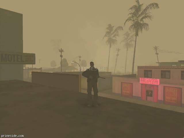 Просмотр погоды GTA San Andreas с ID -493 в 6 часов