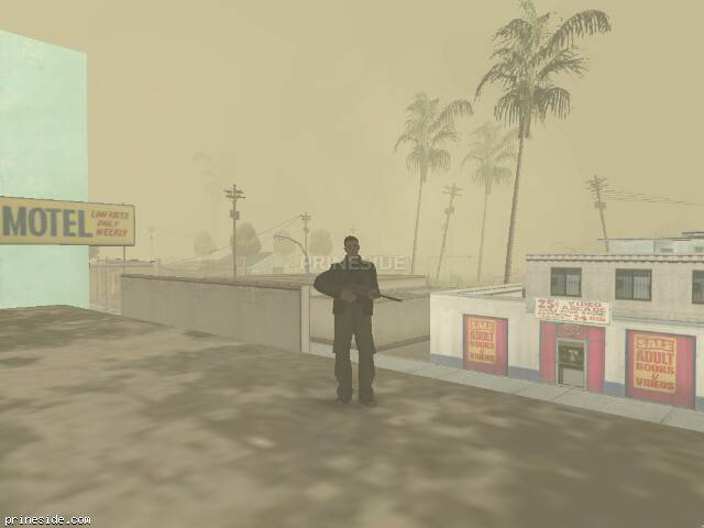GTA San Andreas weather ID -493 at 7 hours
