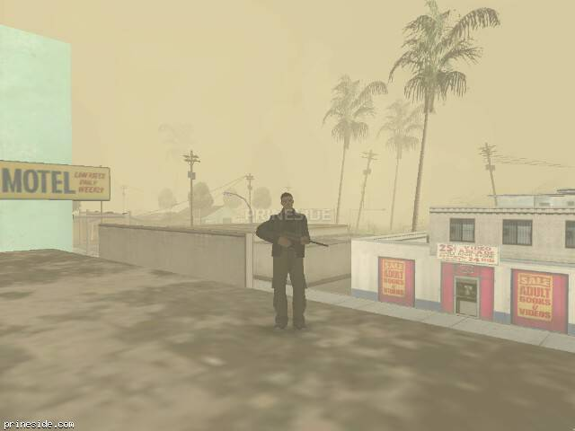 GTA San Andreas weather ID -493 at 8 hours