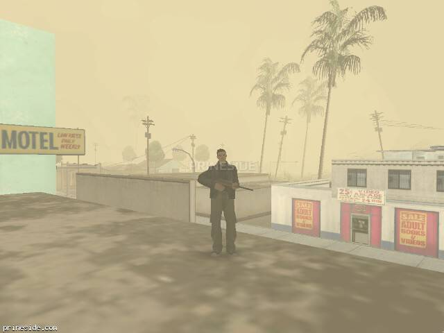 GTA San Andreas weather ID 19 at 9 hours