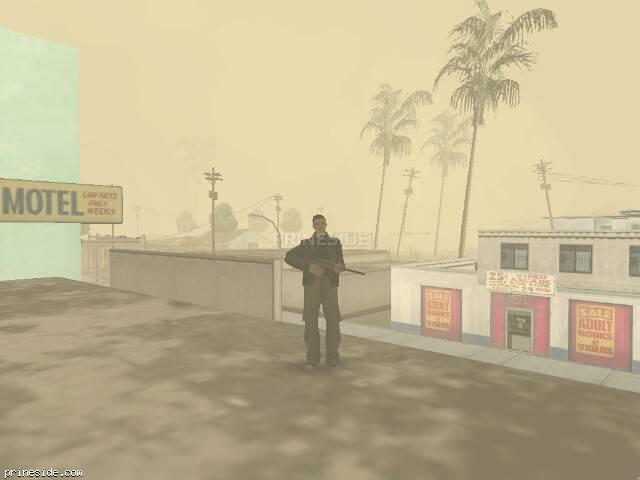 Просмотр погоды GTA San Andreas с ID -493 в 9 часов
