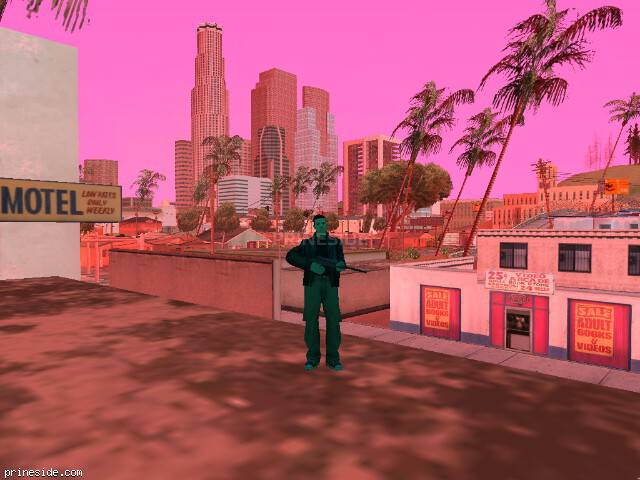 GTA San Andreas weather ID 190 at 11 hours