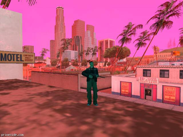 GTA San Andreas weather ID 190 at 13 hours