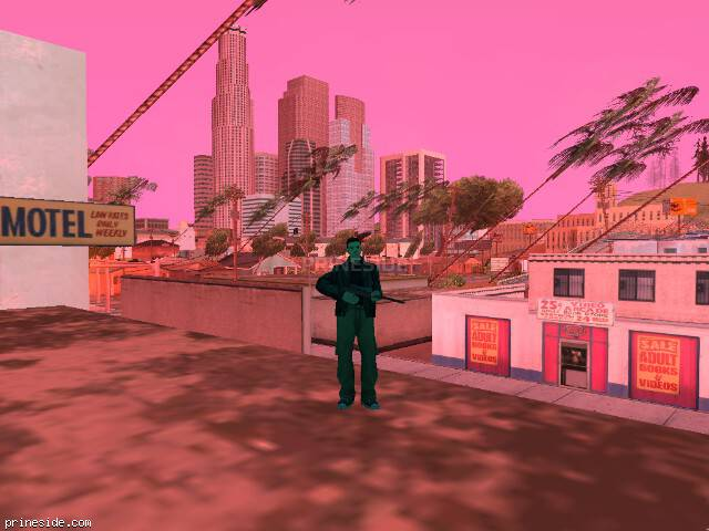 GTA San Andreas weather ID 190 at 18 hours