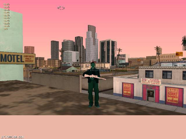 GTA San Andreas weather ID 190 at 20 hours