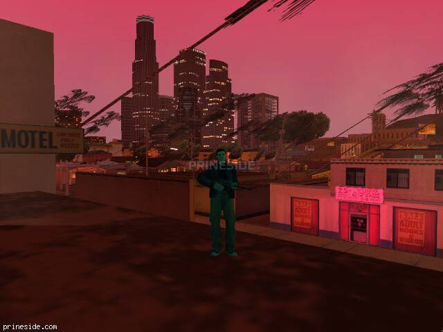 GTA San Andreas weather ID 190 at 21 hours