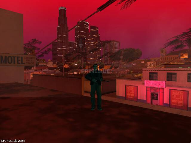GTA San Andreas weather ID 1726 at 22 hours