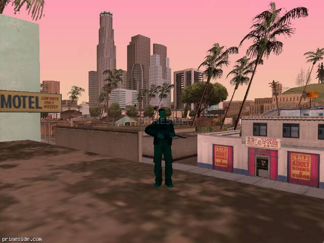 GTA San Andreas weather ID 190 at 8 hours