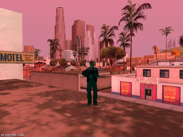 GTA San Andreas weather ID 191 at 10 hours