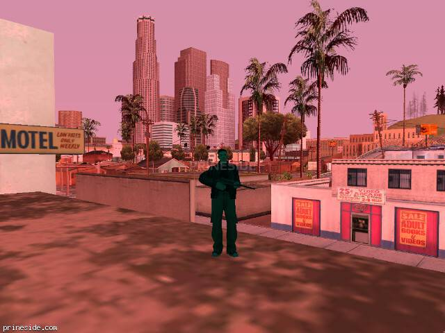 GTA San Andreas weather ID 191 at 11 hours