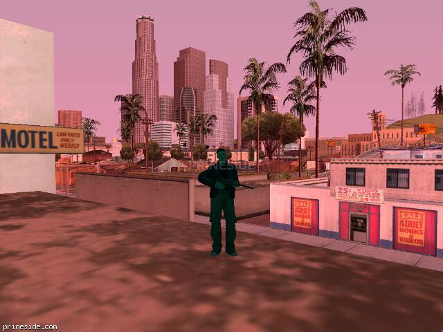 GTA San Andreas weather ID 191 at 13 hours