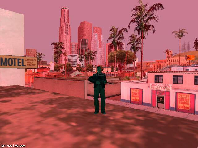 GTA San Andreas weather ID 191 at 15 hours