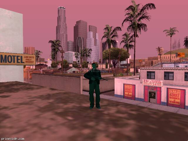 GTA San Andreas weather ID 191 at 16 hours