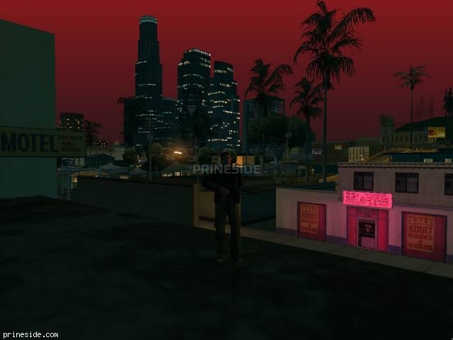 GTA San Andreas weather ID 191 at 23 hours