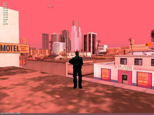 GTA San Andreas weather ID 191 at 7 hours