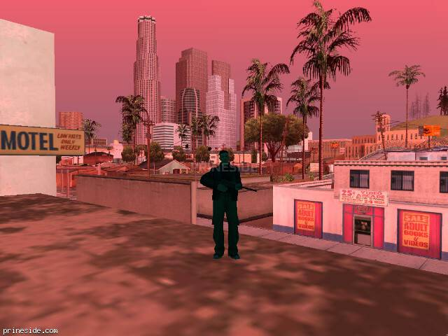 GTA San Andreas weather ID 191 at 8 hours