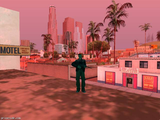 GTA San Andreas weather ID 193 at 10 hours