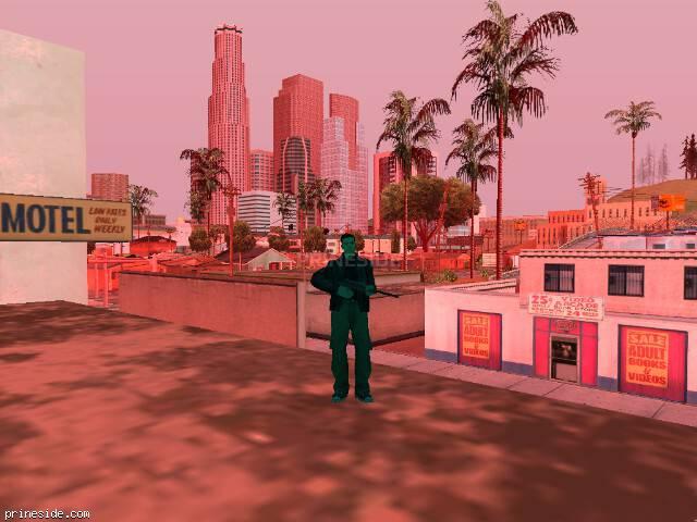 Просмотр погоды GTA San Andreas с ID 961 в 14 часов