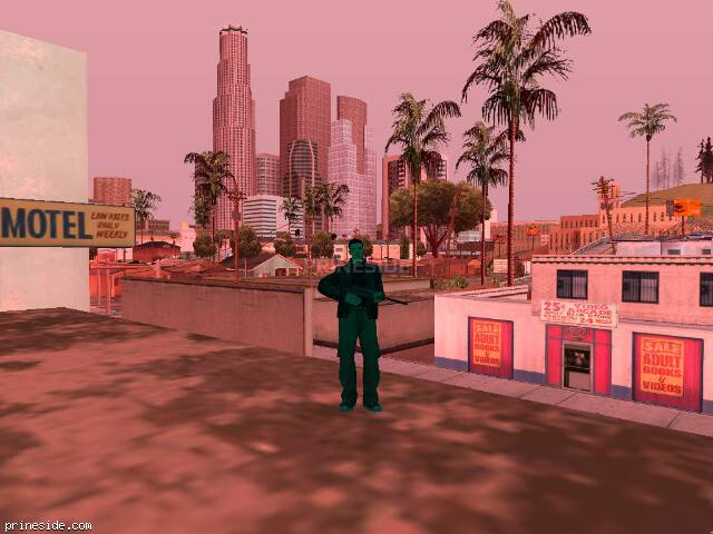 GTA San Andreas weather ID 193 at 15 hours