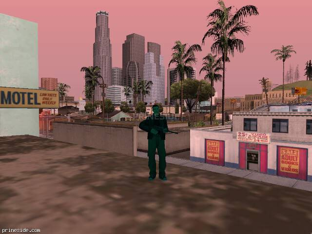 GTA San Andreas weather ID 193 at 17 hours