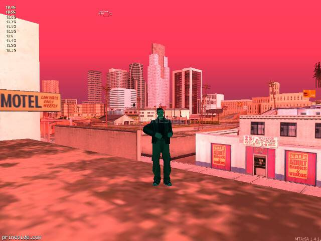 GTA San Andreas weather ID 961 at 20 hours