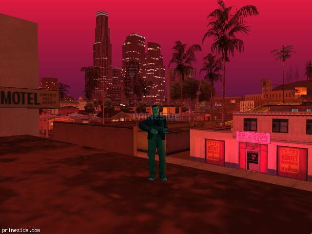 GTA San Andreas weather ID 193 at 21 hours