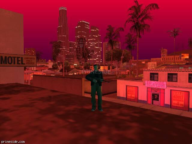 Просмотр погоды GTA San Andreas с ID 961 в 22 часов
