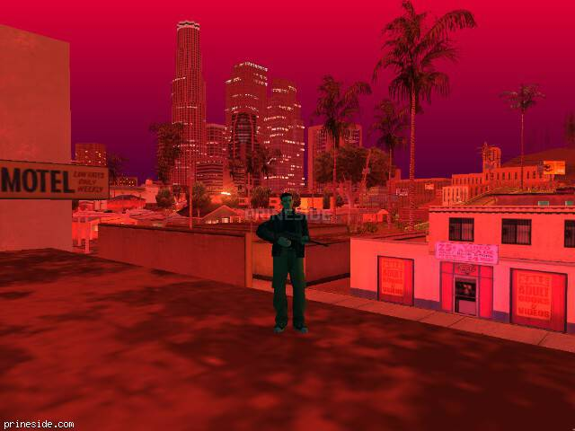 GTA San Andreas weather ID 193 at 23 hours