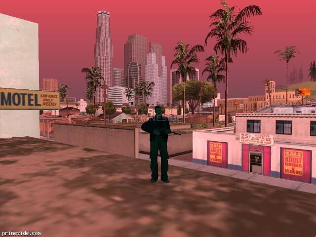GTA San Andreas weather ID 193 at 8 hours