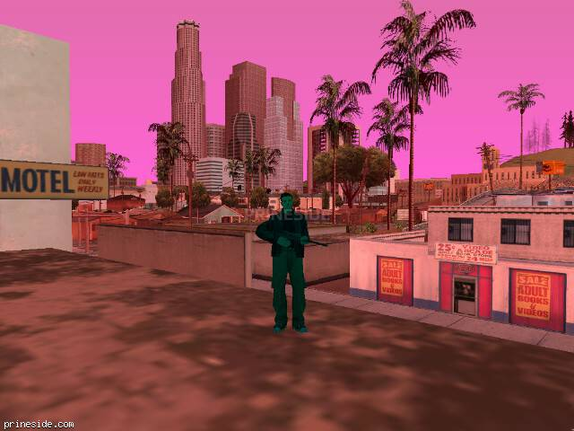 GTA San Andreas weather ID 194 at 16 hours