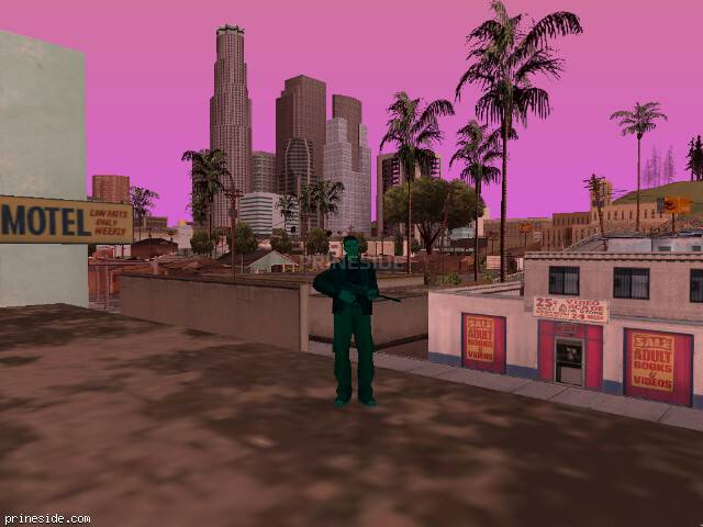 GTA San Andreas weather ID 194 at 18 hours